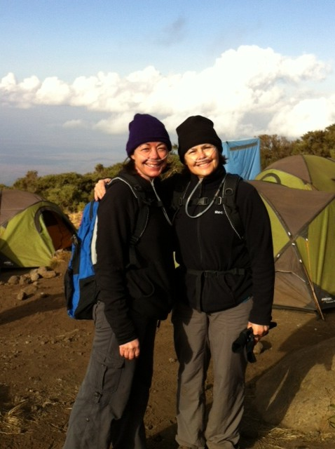 Elanco colleagues preparing to summit Kilimanjaro